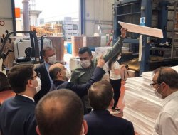 Governor of Trabzon Mr. İsmail USTAOĞLU Visited Our Factory